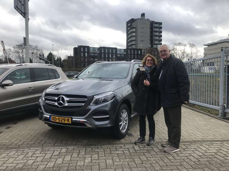 Mercedes Benz GLE importeren financial lease