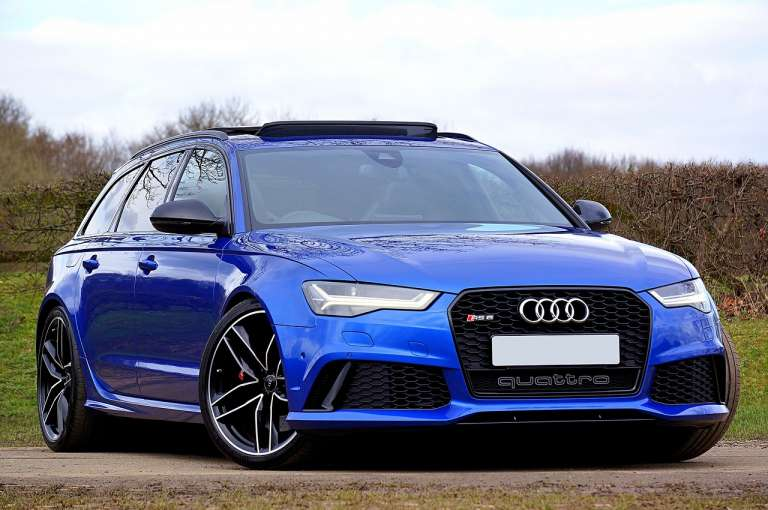 Audi RS6 importeren financial lease